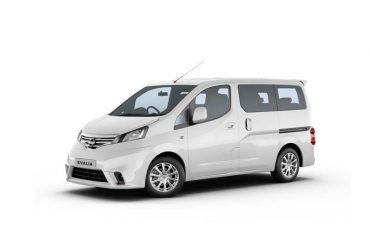 Kategorie Minibus: Nissan Evalia