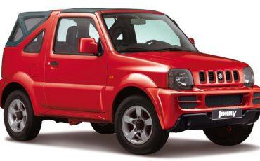 Cabrio Kategorie: Suzuki Jimny 1.3